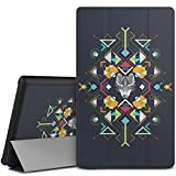 MoKo Case for Fire HD 8 2015 [Previous 5th Gen ONLY] - Ultra Lightweight Slim-shell Stand Cover with Auto Wake/Sleep for Amazon Kindle Fire HD 8