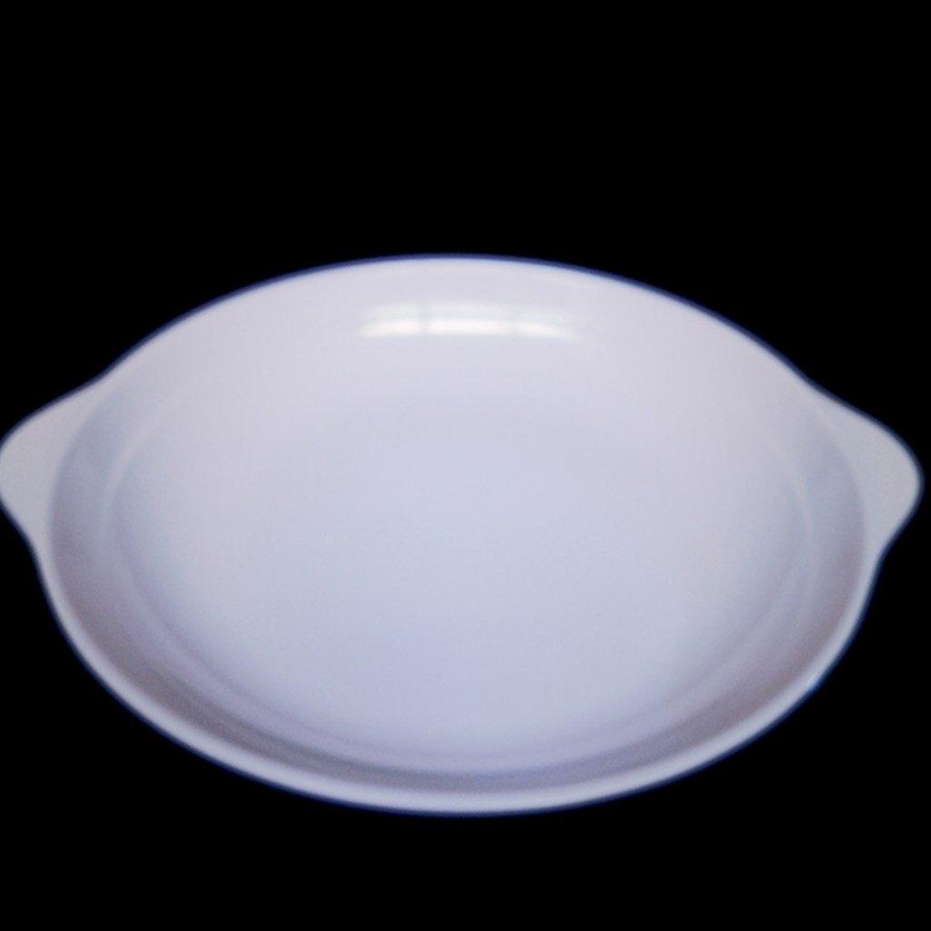 Kaxima Melamine tableware dual ear dish cold dish restaurant fast food plate 3