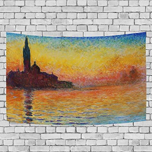 Nugier Claude Monet Sunset In Venice 60