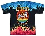 Liquid Blue Men's Led Zeppelin Icarus 1975 T-Shirt, Multi, Large
