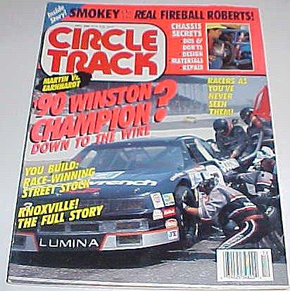 Circle Track Car Magazine December Dec. 1990 ()