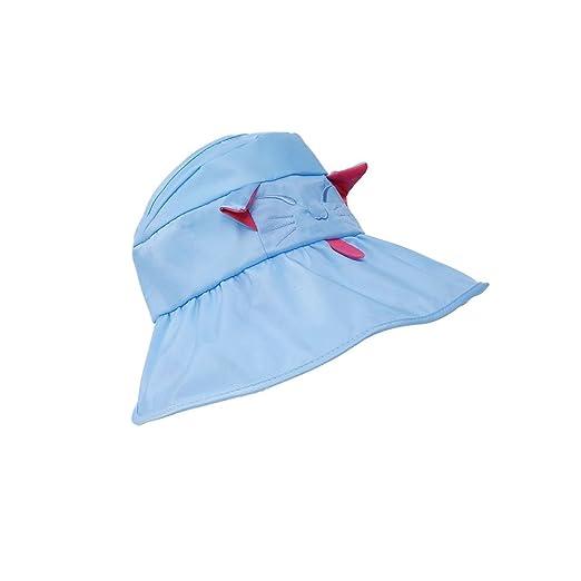 Beige FENICAL Animal Hats Kids Summer Beach Hat Cartoon Tiger Cap Straw Hats