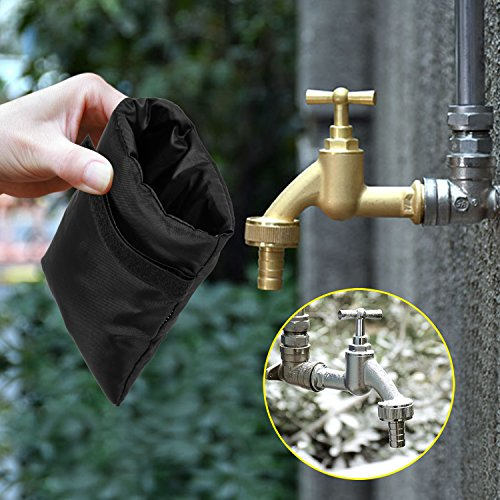 SoulBay 2PCS Outdoor Faucet Covers for Winter Freeze - Import It All