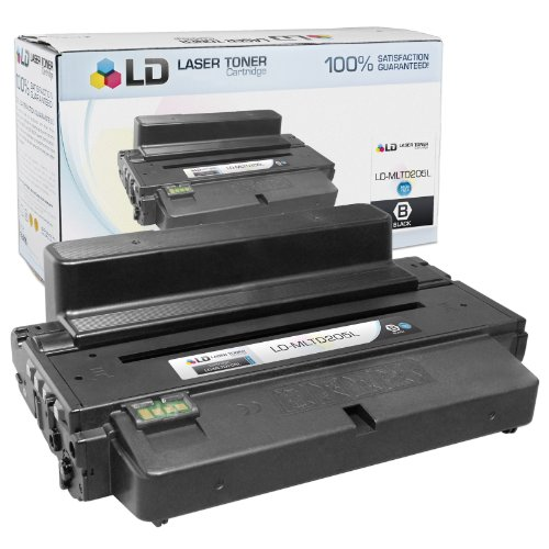 LD © Compatible Alternative to Samsung MLT-D205L High Yield Black Laser Toner Cartridge for ML-3312ND, ML-3312DW, ML-3712ND, SCX-4835FD, SCX-4835FR, SCX-5339FR and SCX-5739FW Printers