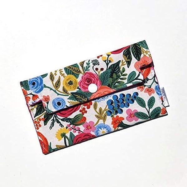 Lanyard Badge ID Holder Rifle paper co petite Garden party rose Floral Fabric Lanyard Lanyard Keychain