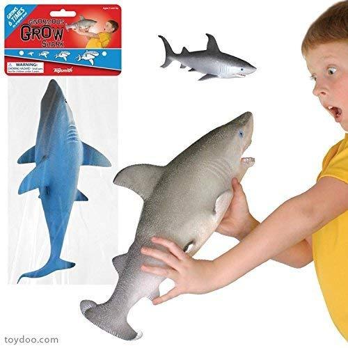 Toysmith Ginormous Grow Sharks
