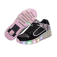sommer Atmungsaktives Kind LED Heelys Roller Skate Schuhe Mit räder Mädchen...