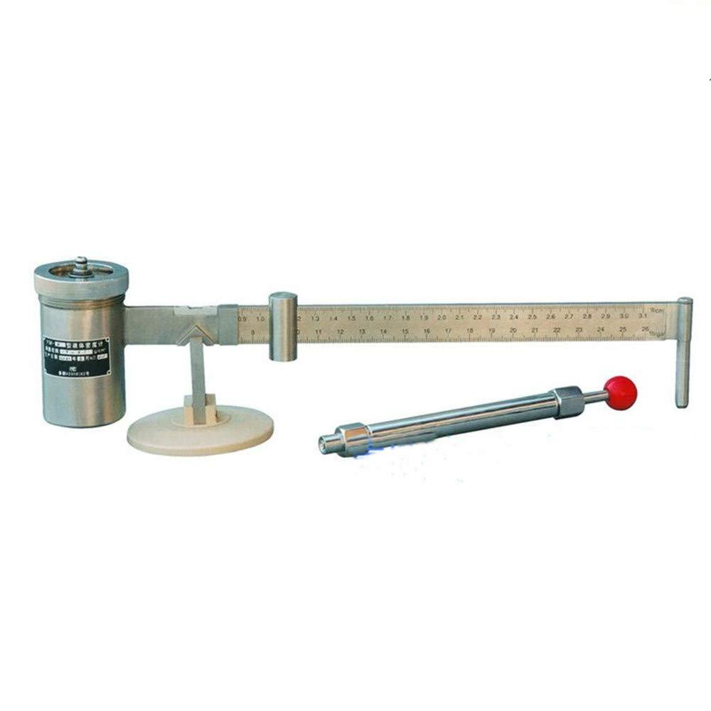 MXBAOHENG Mud Hydrometer Laboratory Liquid Density Meter Mud Scale Mud Balance with Measuring Range 0.9~3.1g/cm3 Measurement Accuracy 0.01g/cm3