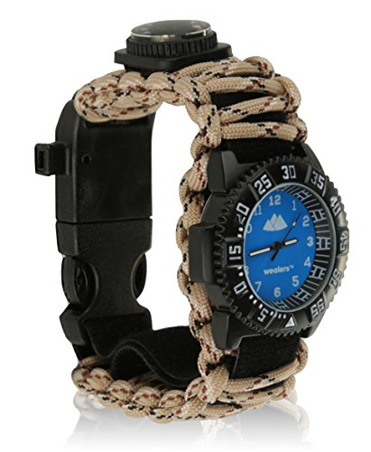 Tactical Survival Watch - Multifunctional 6 in 1 Extreme ...