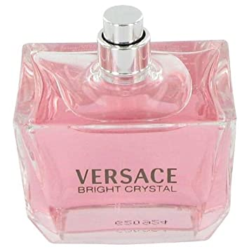 Bright Crystal By Versace 3 oz Eau De Toilette Spray Tester for Women
