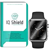 Watch 42mm Screen Protector, IQ Shield Tempered Ballistic Glass Screen Protector for Watch 42mm 99.9% Transparent HD and Anti-Bubble Shield - with