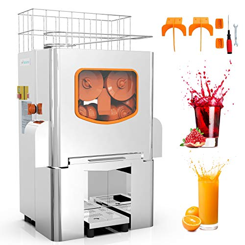 Commercial Orange Juicer Electric Orange Juice Squeezer Automatic Citrus Juice...