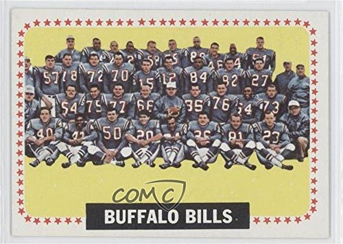 Buffalo Bills Team (Football Card) 1964 Topps - [Base] (1964 Buffalo Bills)