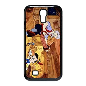 Samsung Galaxy S4 9500 Cell Phone Case Black Disney Pinocchio Character Geppetto 008 YW5974537