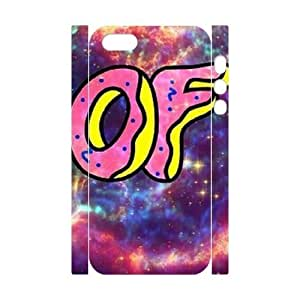 wugdiy Brand New Phone 3D Case for iPhone 5,5S with diy odd future