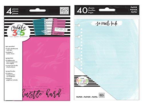 MAMBI me & my BIG ideas Create 365 Mini Fill Watercolor Paper and Mini Dashboard (Set of 2)
