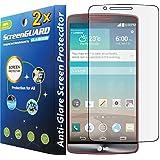 GuarmorShield 2x LG G3 D850 D855 D851 LS990 VS985 Premium Anti-Glare Anti-Fingerprint Matte Finishing LCD Screen Protector Cover Kit (Package by GUARMOR)