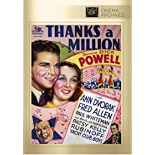 Thanks A Million (1935)