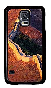 Samsung Galaxy S5 Cases & Covers - Great Wall Of China 02 PC Custom Soft Case Cover Protector for Samsung Galaxy S5 - Black