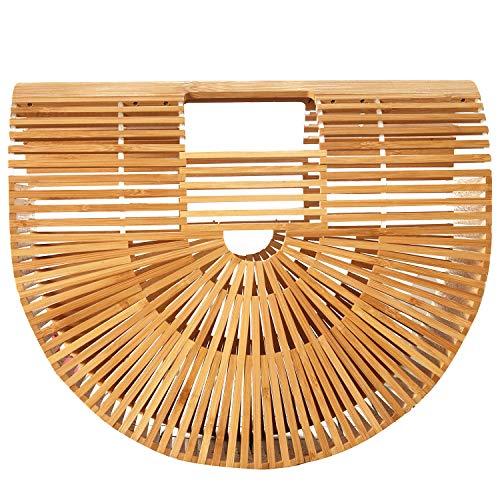 Bamboo Handbag-Womens Bamboo Handbag Handmade Large Tote ()