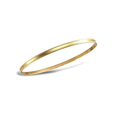 Lucchetta 9 Carats Yellow Gold Bangle 7CavVa0jLR