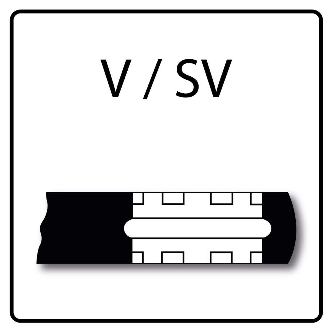 ROTHENBERGER Standard Pressbacke SV 28 VARIO-PRESSBACKE SV28 axialer Schubkraft 32-34 kN