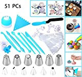 Joiedomi 51pc Cake Icing & Decorating Kit Including 12 Stainless Tips Deal (Small Image)