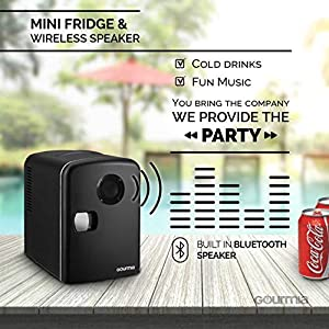 Gourmia 6 Can Mini Fridge