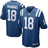 NIKE Peyton Manning Indianapolis Colts Retired Player Blue Game Jersey - Men's XL (X-Large)