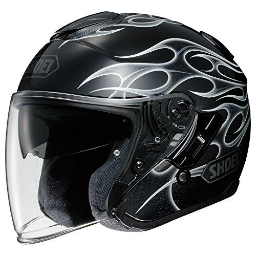 Shoei J-Cruise Helmet - Reborn (Large) (Black/Silver)