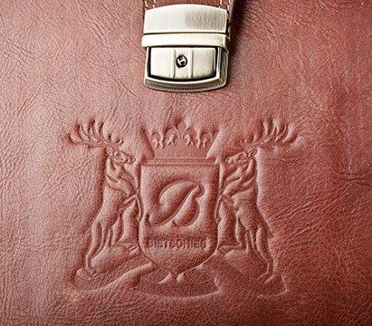 TOP luxus Leder Weekender Tasche Bietschies Leder in Ärztetasche Optik