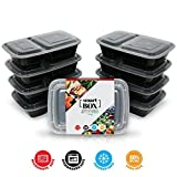 The Smart Box - Tupperware Containers - Reusable Bento Box And Meal Prep Containers With Compartments. Reusable, BPA Free, Microwave Dishwasher Freezer Safe