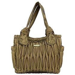 timi & leslie Marie Antoinette 7-Piece Diaper Bag Set, Black