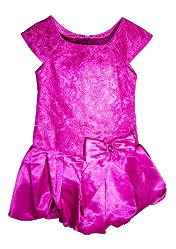 Jona Michelle Girl's Party Dress Hot Pink (6)