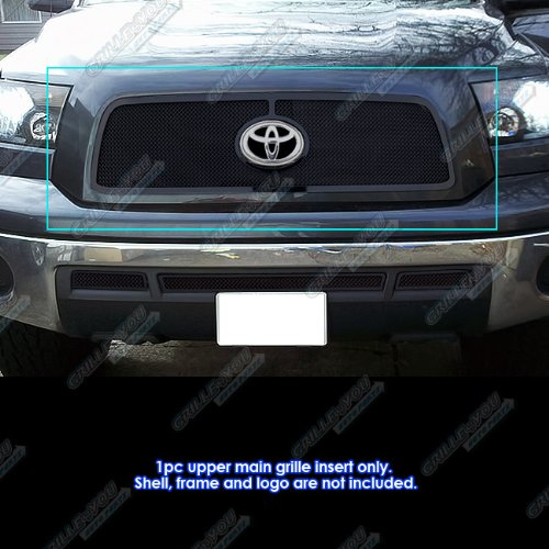 APS 2010-2013 Toyota Tundra Black Stainless Steel Mesh Grille Grill Insert #S18-H81767T -