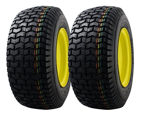 2 PACK MARASTAR 16x6.50-8 Front Tire Assembly Replacement for John Deere Riding Mowers ()