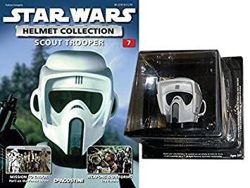 COLECCIÓN CASCOS 1:5 STAR WARS Nº 7 SCOUT TROOPER