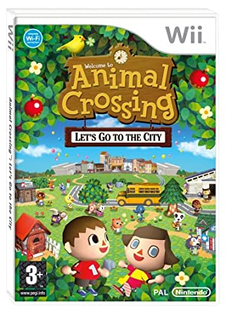 Image of: Harvest Moon Animal Crossing Lets Go To The City wii Wii Amazoncouk Pc Video Games Amazon Uk Animal Crossing Lets Go To The City wii Wii Amazoncouk Pc