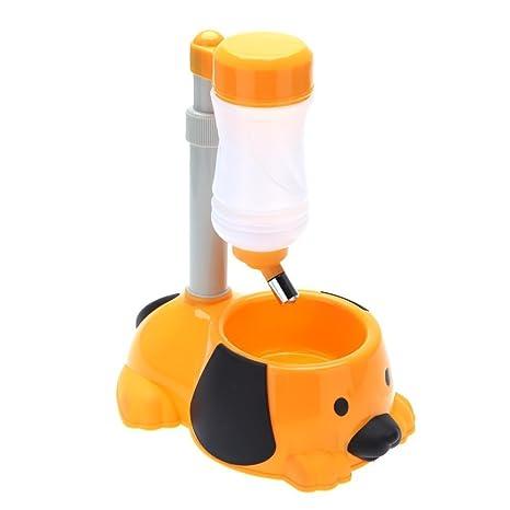 Tao King 2 in1 automático mascota dispensador de agua potable Tazón para no Derrame