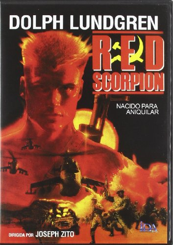RED SCORPION - All Regions - Import - Dolph Lundgren