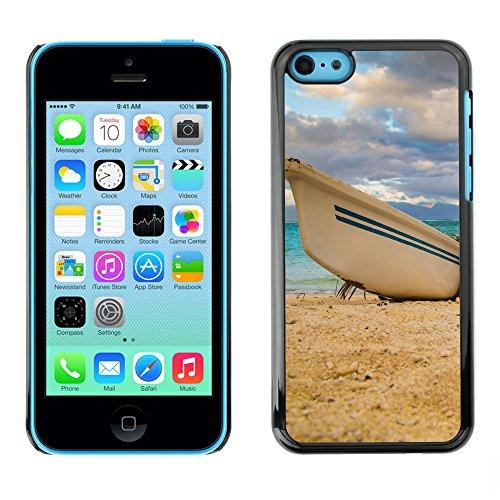Premio Sottile Slim Cassa Custodia Case Cover Shell // F00004099 bateau // Apple iPhone 5C