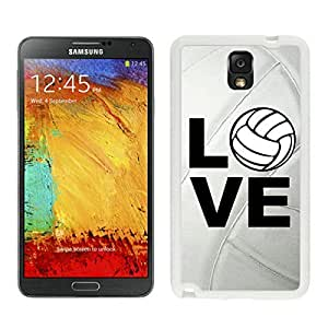 BINGO cheap price Volleyball Keep Calm Play On Volleyball Player Samsung Galaxy Note 3 Case White Cover