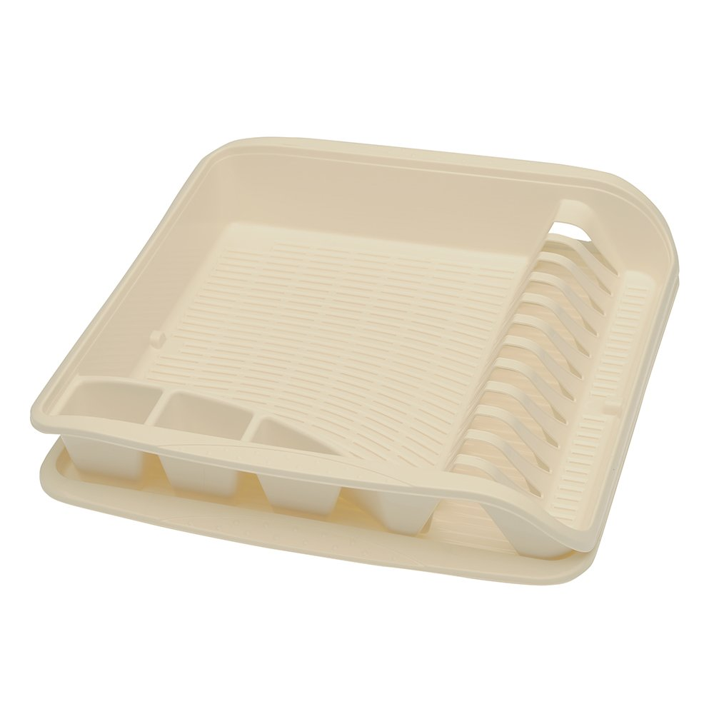 Keeeper Dish Drainer with Grand Tray, Cream 10586876000
