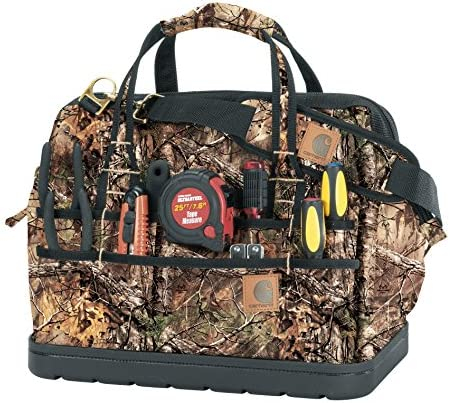 Carhartt Legacy Tool Bag 2015 Style 16 inch Molded Base, RealTree Xtra
