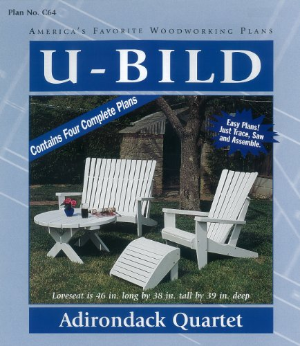 U-Bild C64 Adirondack Quartet Project Pl - Adirondack Furniture Plans Shopping Results