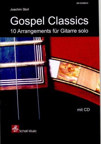 Gospel Classics (mit CD) - 10 Arrangements für Gitarre solo