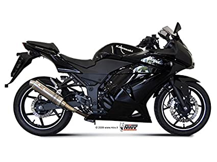 KAWASAKI NINJA 250R 2016 MIVV ESCAPES GP TITANIO: Amazon.es ...