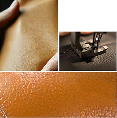 Cómodo Marrón Designed Open Man Sandalias Vintage Color playa de 38 Slipper Tamaño Antiskid Marrón correa con de tobillo Zapatos Toe Soft z6ZwPTq