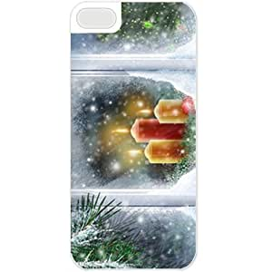 Apple iphone 6 4.7 Cases Customized Gifts For Holidays Candles In The Window At Christmas Eve Celebrations Holiday White