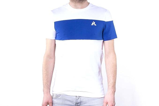 Le Coq Sportif Ess Saison Tee SS N°1 M New Optical Whit, Camiseta
